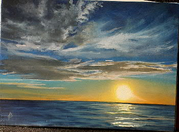 """Sundown Over Water, series"""