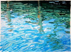 """""""Water Reflection, series"""""""